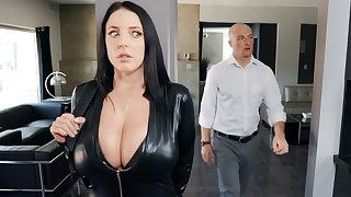 Busty cat thief private road dick for diamond