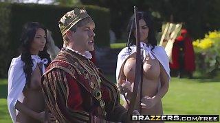 Brazzers - Molestation Of Kings Parody Part Anissa Kate