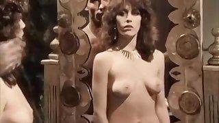 Sexy lady fucks unending in retro porn