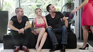 Getting screwed together makes Tina Kay and her affiliate usurp