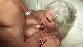 76 adulthood old granny rough fucked