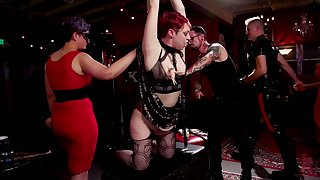 Piping hot Aiden Starr and some more whores are ready be useful to wild hardcore lady-love