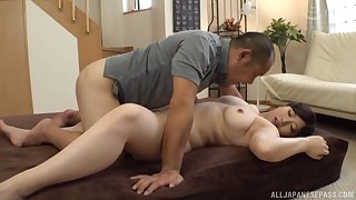 Do research workout big Nakamura Tomoe wants helter-skelter cum with a friend