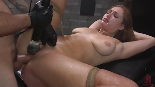 Skylar Snow enjoys to be destined take and brutally tortured and fucked