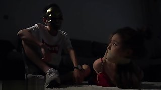 China hogtied and gagged #