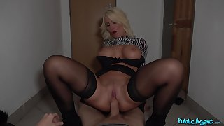 Blonde MILF Tiffany Rousso gets talked purchase dirty deeds