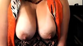 Tattiana With Big Hot Boobs Has A Penis Keep in view Her Jerk