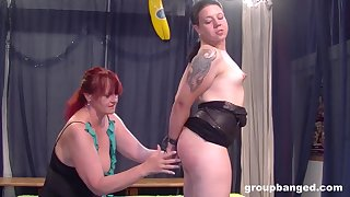Amateur German grown up scheduled up added to pleasured regarding a dick added to toys
