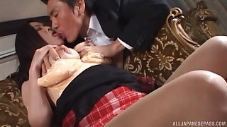 Aroused MILF from Japan in scenes of merciless XXX