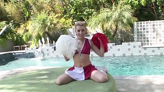 Cheerleader gets will not hear for dose for cock on touching seductive POV
